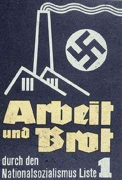 ナチスが合法的に権力掌握をおこなうために選挙で使った25枚のポスター