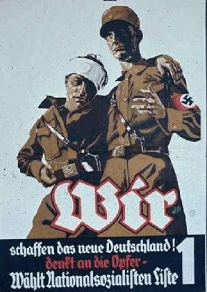 ナチスが合法的に権力掌握をおこ...