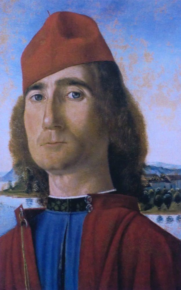 luomo-dal-berretto-rosso-tempera-e-olio-su-tavola-particolare-museo-correr-venezia