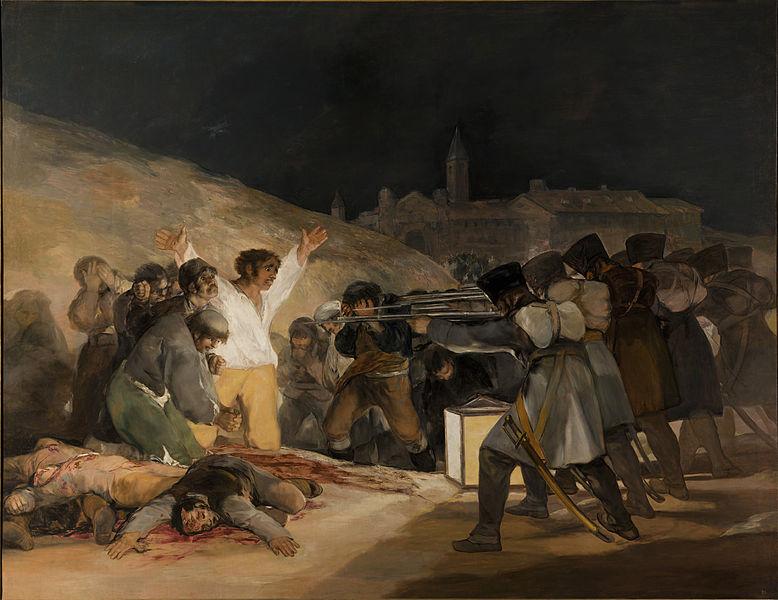 マドリード、1808年5月3日》フランシスコ・デ・ゴヤ|MUSEY[ミュージー]