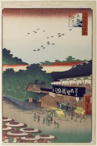 名所江戸百景 上野山した