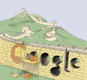 Google vs 中国