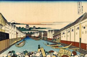 富嶽三十六景 江戸日本橋