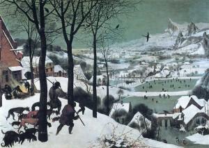 雪中の狩人