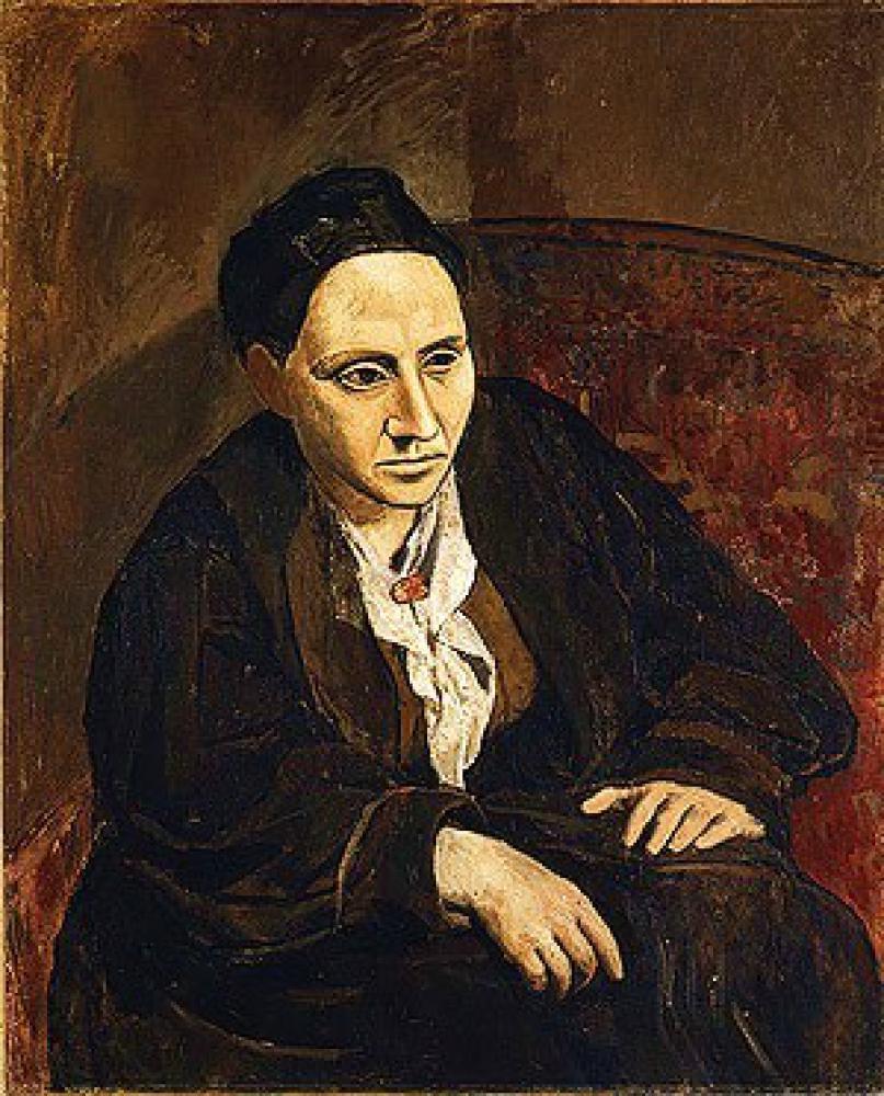 ガートル―ド・スタインの肖像