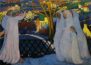 キリストの墓を訪れる聖女たち