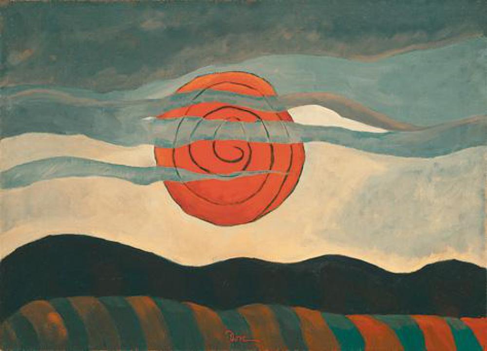 赤い太陽》アーサー・ダヴ|MUSEY[ミュージー]