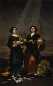 聖フスタと聖ルフィーナ