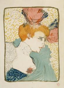 マルセル・ランデール嬢、胸像