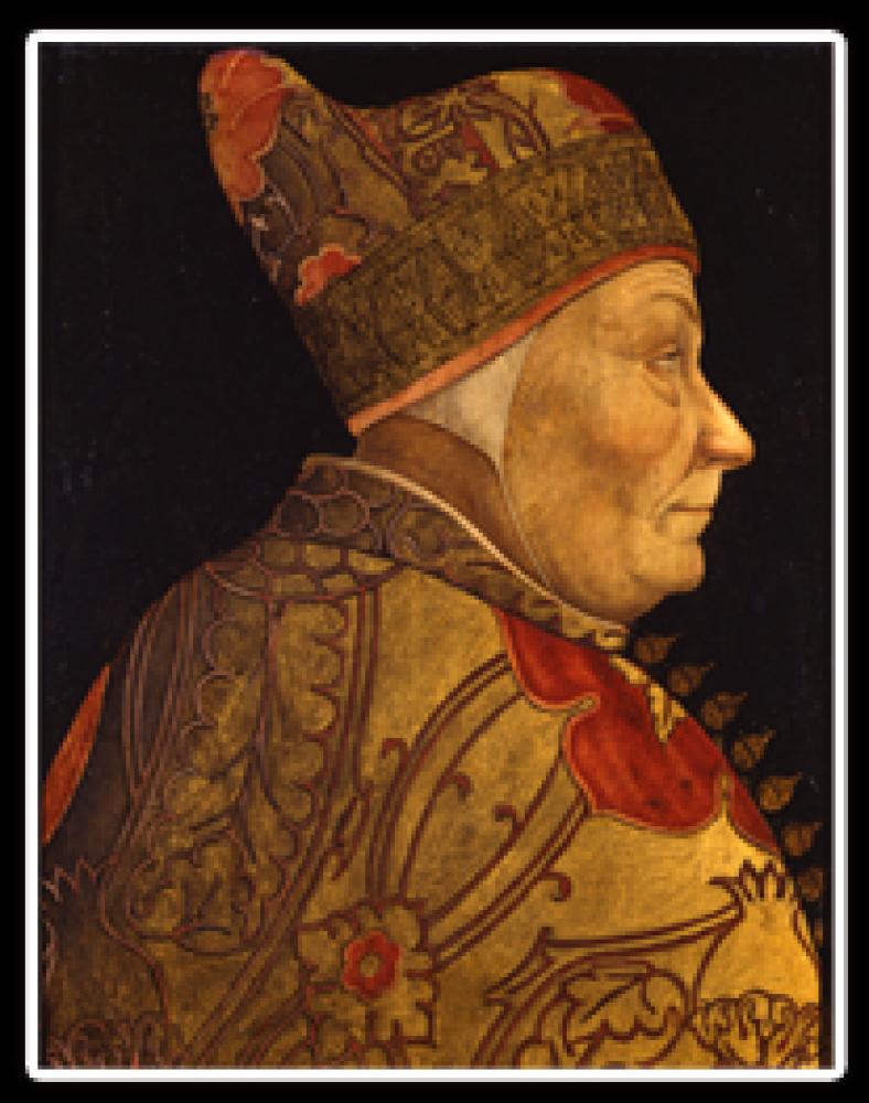 総督フランチェスコ・フォスカリの肖像
