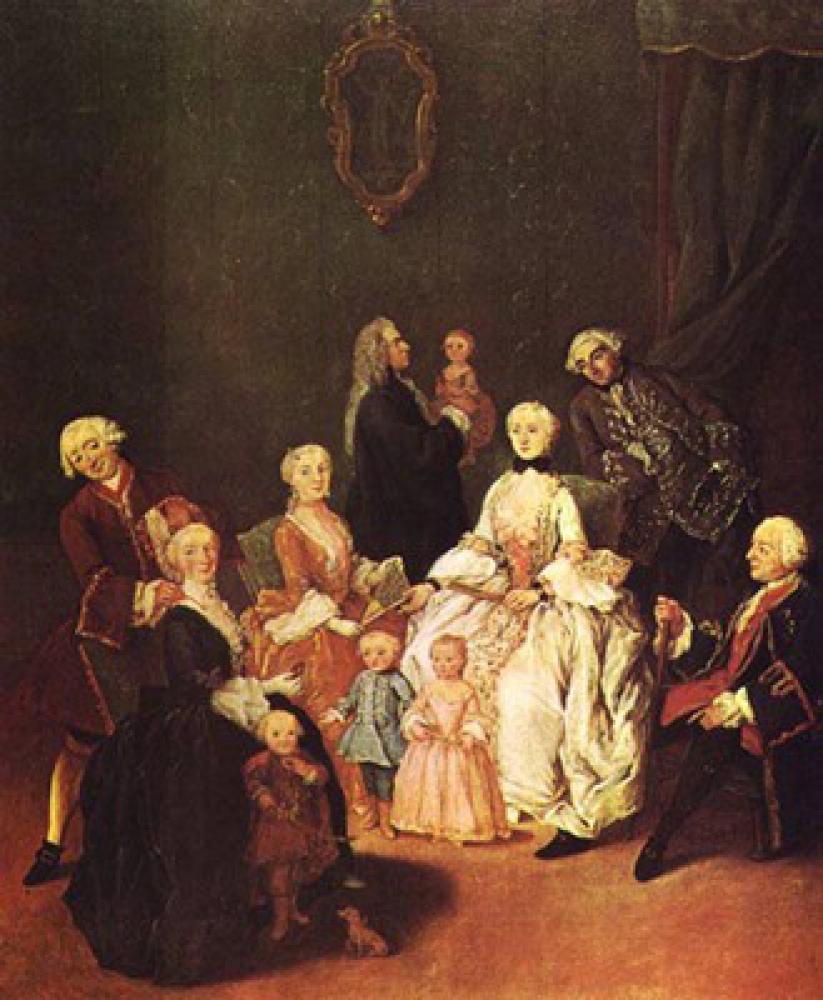 貴族の家族