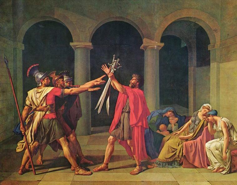 ホラティウス兄弟の誓い