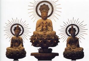 阿弥陀三尊坐像