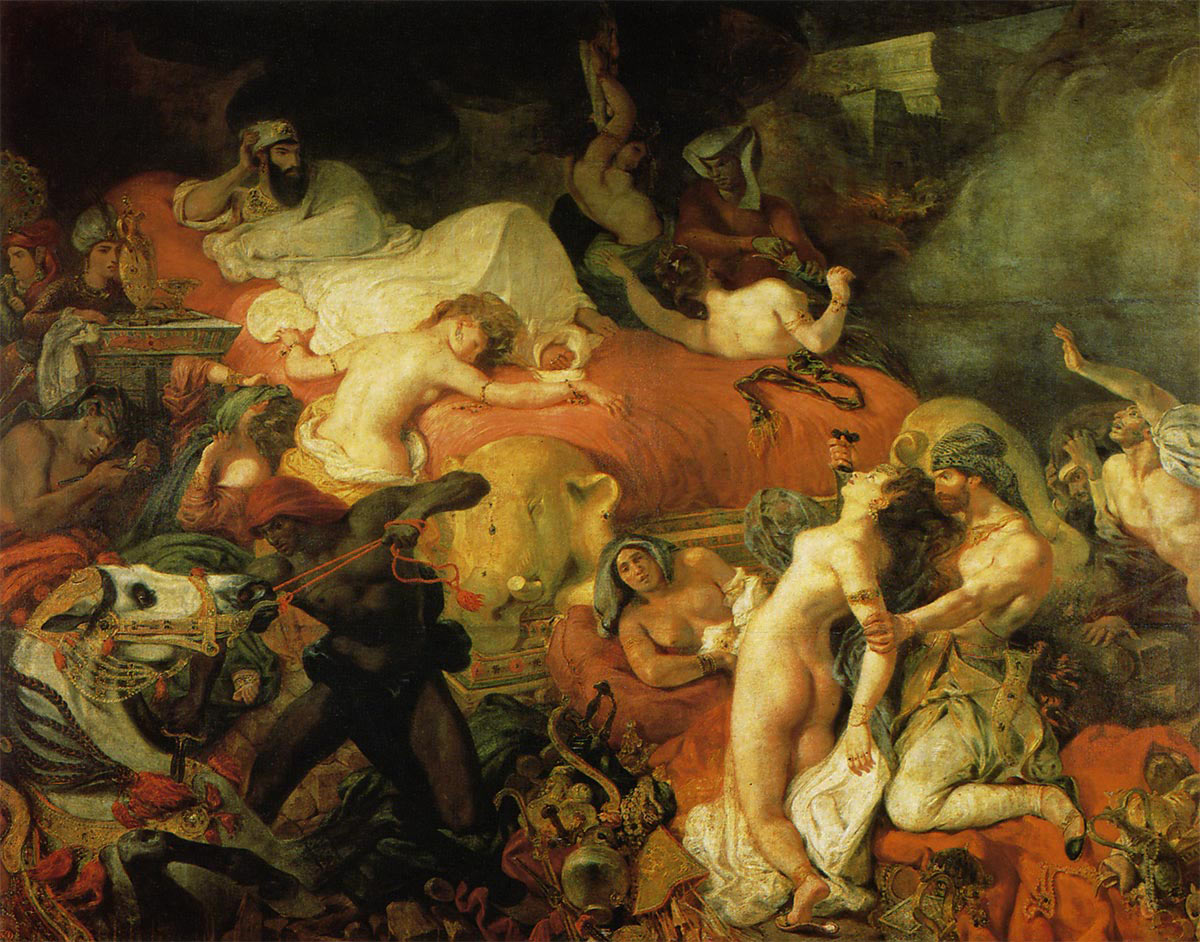 サルダナパロスの死