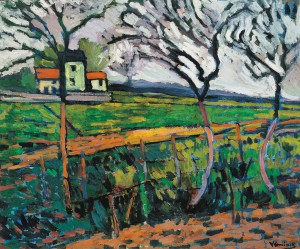 リュエイユの畑