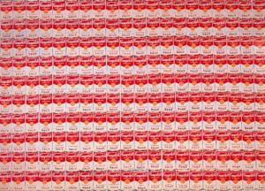 200個のキャンベル・スープ缶