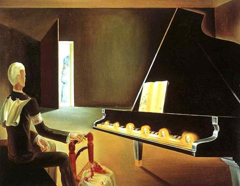 部分的幻覚:ピアノに出現したレーニンの幻影