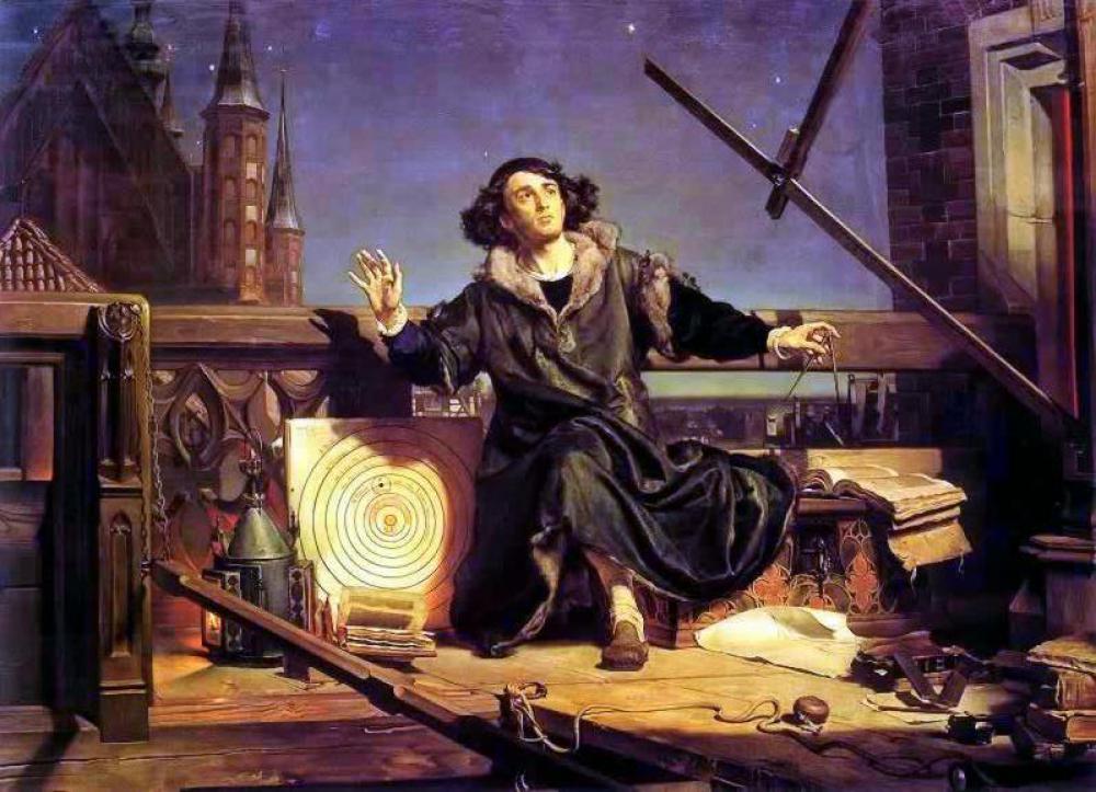 天文学者コペルニウス、もしくは神との対話