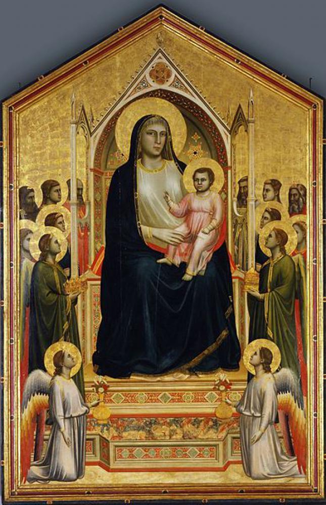 荘厳の聖母(オニサンティの聖母)