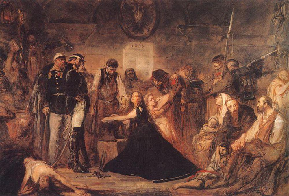 ポロニア、1863年》ヤン・マテイコ|MUSEY[ミュージー]