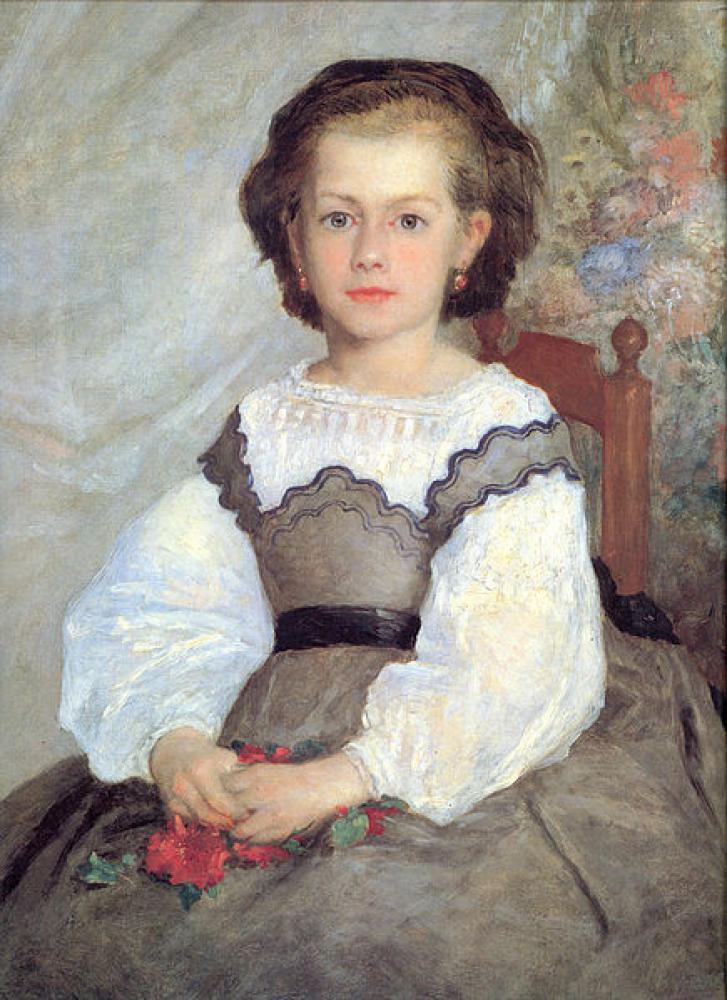 ロメーヌ・ラコー嬢の肖像