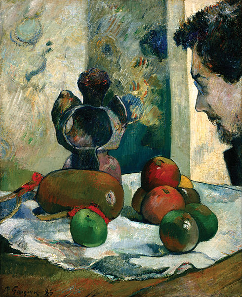 490px-Gauguin,_Paul_-_Still_Life_with_Profile_of_Laval_-_Google_Art_Project