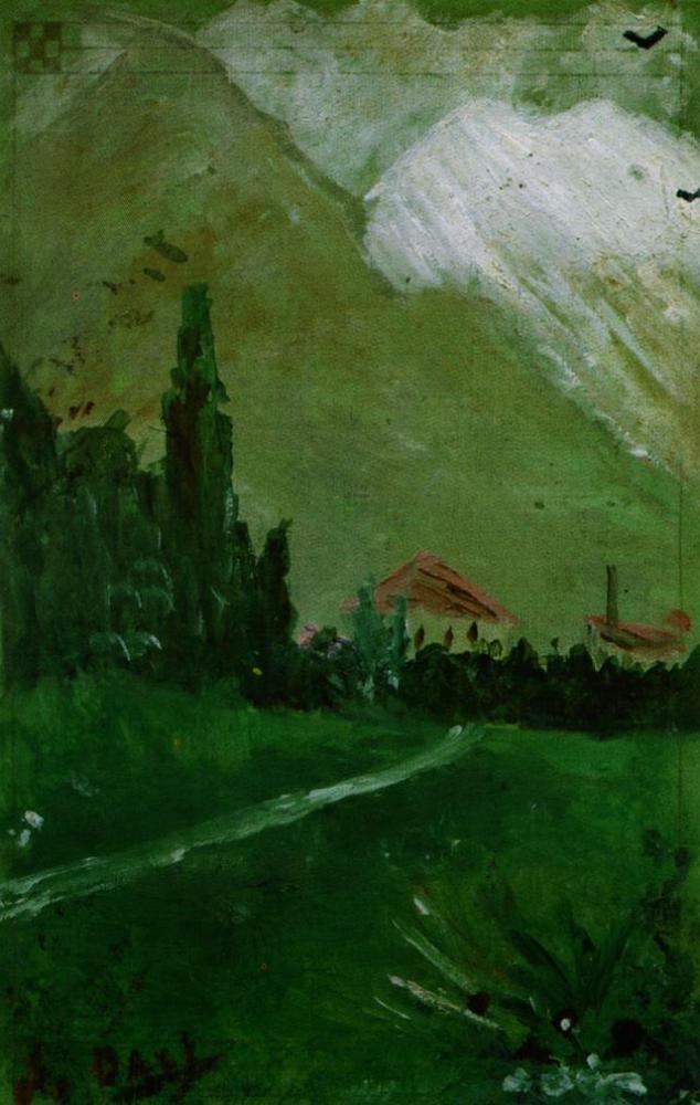 フィゲラス付近の風景