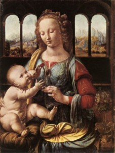 Die-Madonna-mit-der-Nelke-von-Leonardo-da-Vinci-33829