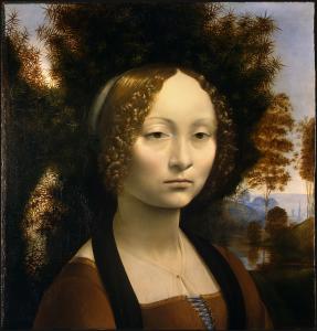 ジネヴラ・デ・ベンチの肖像