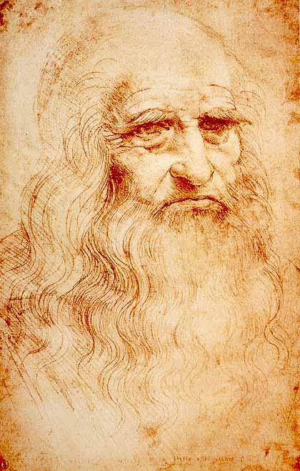 「レオナルドダヴィンチ 自画像」の画像検索結果