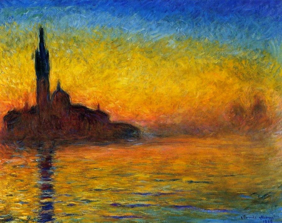 黄昏、ヴェネチア
