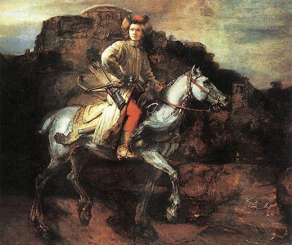 572px-Rembrandt_-_The_Polish_Rider_-_WGA19251