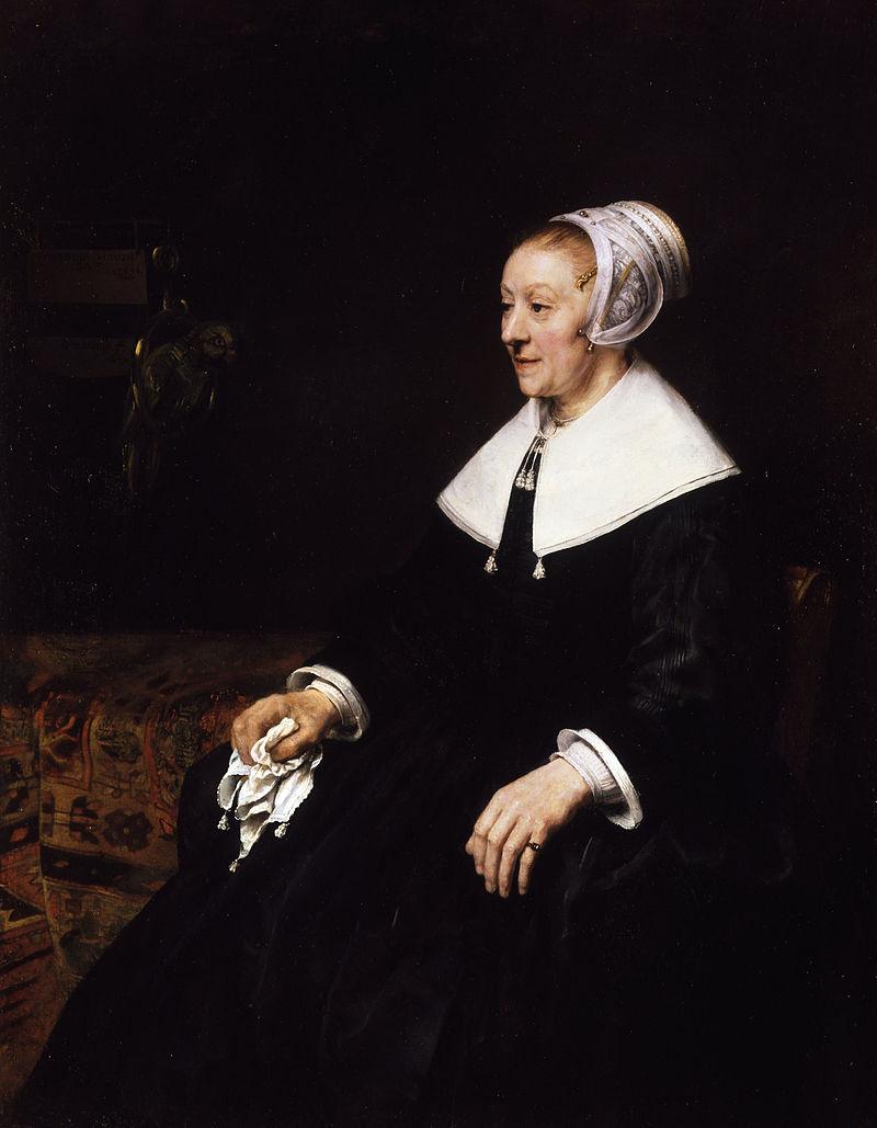 カタリナ・フーグザートの肖像画