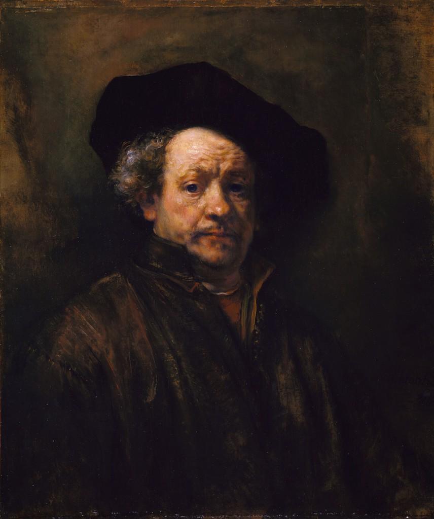 自画像(1660年)