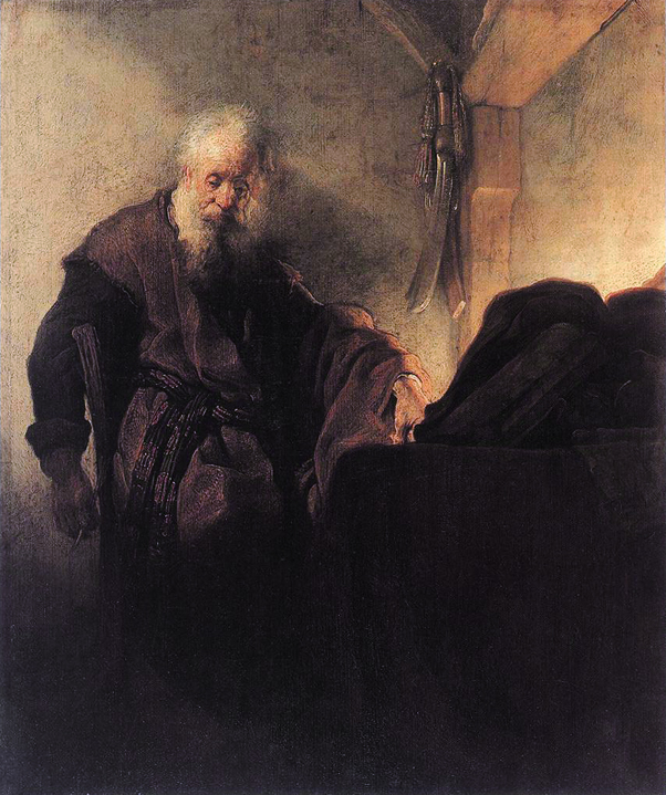 Saint Paul at his Writing-Desk *oil on panel *47 x 39 cm *1629 - 1630