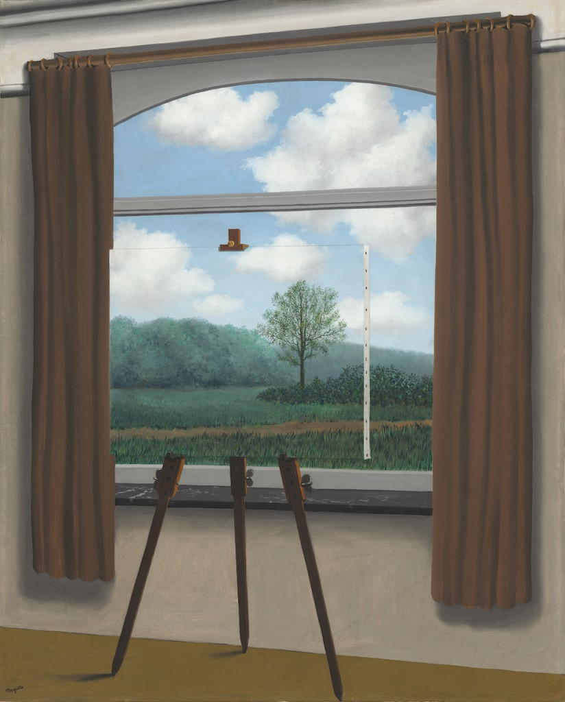 René-Magritte-The-Human-Condition-1933-MoMA
