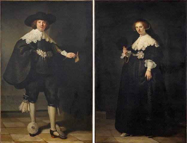 マールテン・ソールマンとオープイェ・コピットの肖像