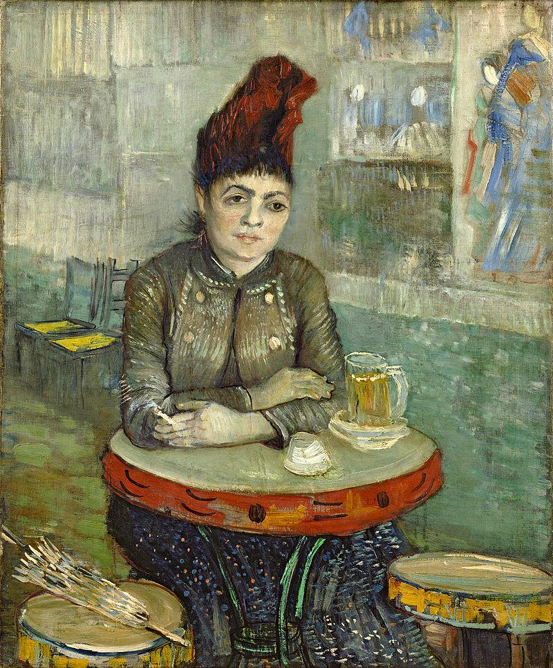 800px-Vincent_van_Gogh_-_In_the_cafe?_-_Agostina_Segatori_in_Le_Tambourin_-_Google_Art_Project_2