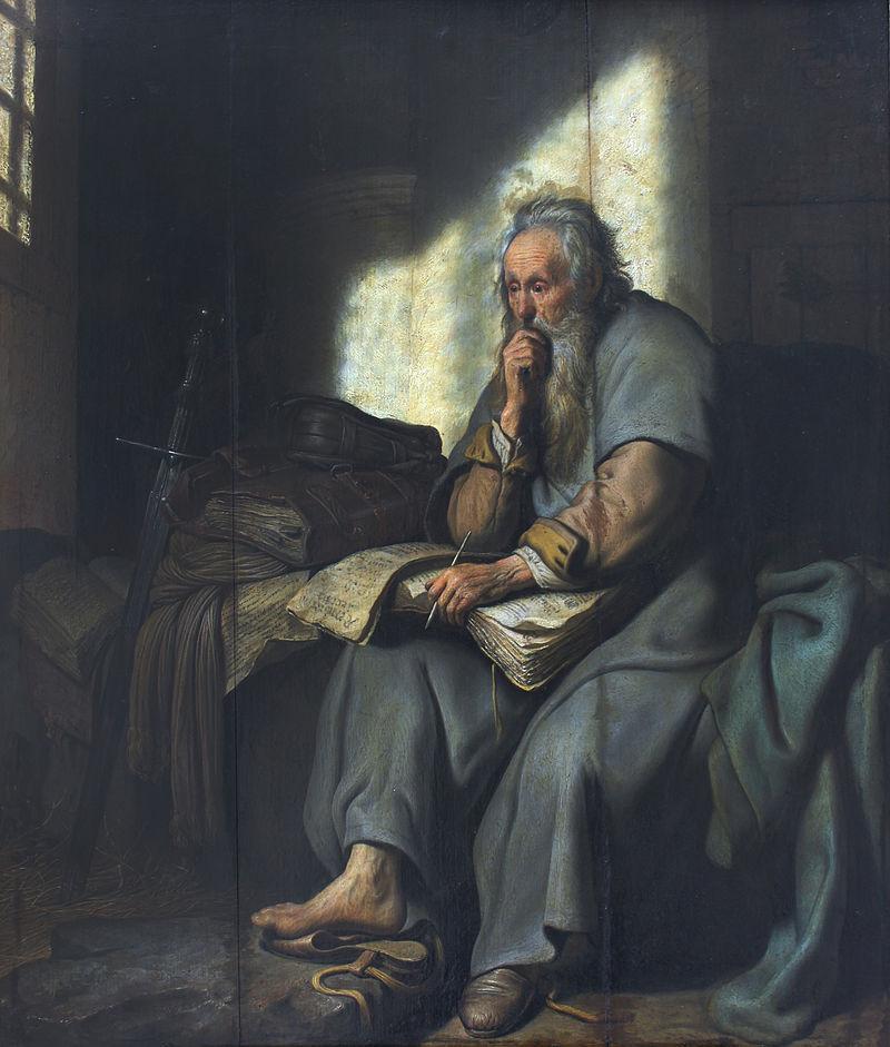 1627_Rembrandt_Paulus_im_Gefängnis_Staatsgalerie_Stuttgart_anagoria