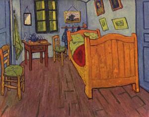 ファン・ゴッホの寝室(アルルの寝室)第1バージョン