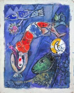 The Blue Circus 1950 Marc Chagall 1887-1985 Presented by the artist 1953 http://www.tate.org.uk/art/work/N06136
