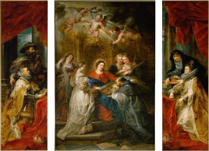 聖イルデフォンソ祭壇画