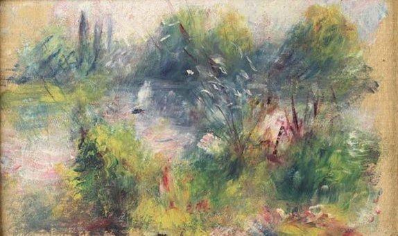 セーヌ河畔の風景