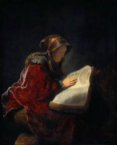 女預言者アンナ
