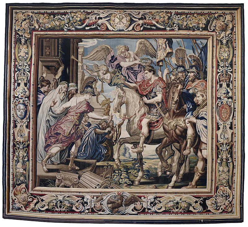 Tapestry_showing_Constantine's_Triumphal_Entry_into_Rome