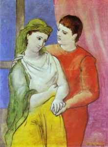 picasso-two-loveres