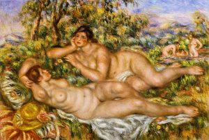 浴女たち(ニンフ)