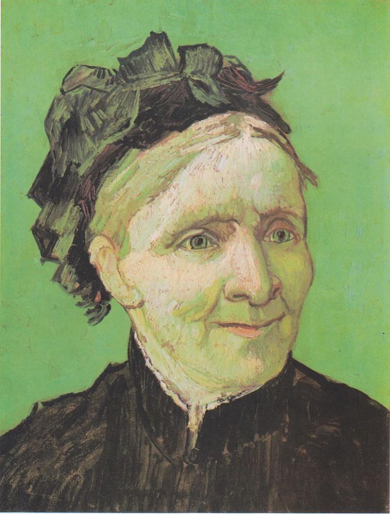 画家の母の肖像