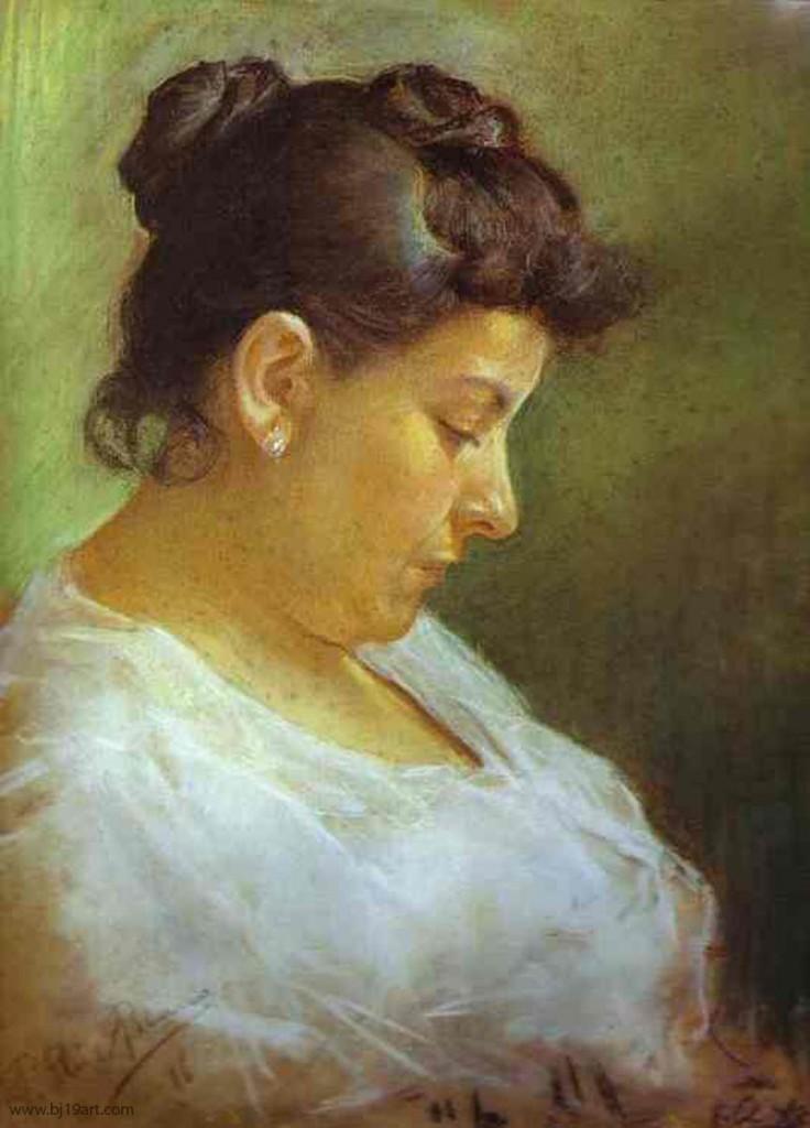 1896 Portrait de la me?re de l'artiste