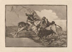 1024px-Goya_-_Modo_con_que_los_antiguos_Espanoles_cazaban_los_toros_a_caballo_en_el_campo